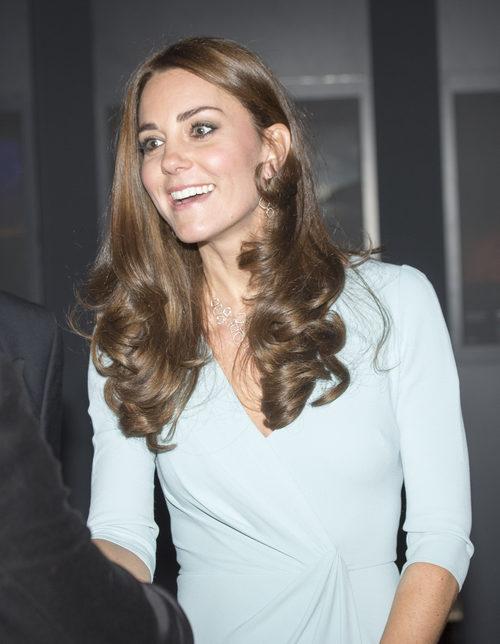 Kate Middleton con una voluminosa melena de ondas