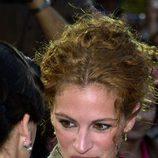 Julia Roberts con un recogido de cabello rizado