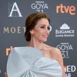 Ana Belén se decide por un sofisticado moño bajo