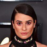 Lea Michele se pasa con el bronceador y la sombra de ojos