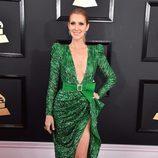 Céline Dion con un Zuhair Murad en los Grammy 2017