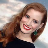 Jessica Chastain con ondas al estilo old Hollywood