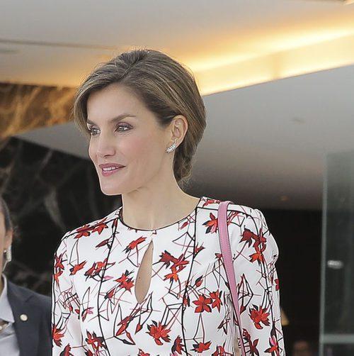 La Reina Letizia luce un recogido