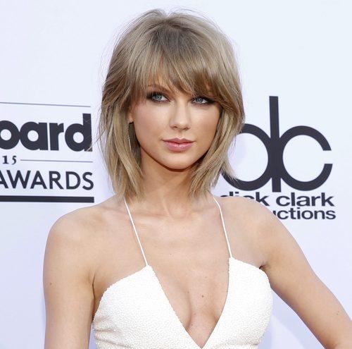 Taylor Swift con pelo desenfadado