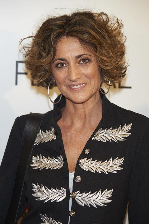 Ana García Lozano con la melena al viento