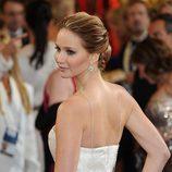 Jennifer Lawrence con recogido