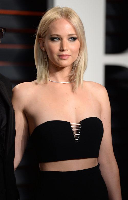 Jennifer Lawrence con corte estilo bob