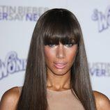 Leona Lewis con flequillo recto