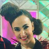 Cristina Rodríguez con doble moño