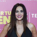 Cristina Rodríguez con el pelo liso
