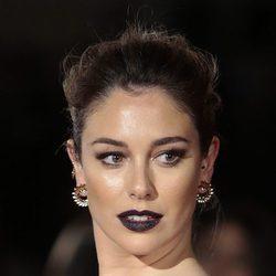Blanca Suárez arriesga con el negro para los labios