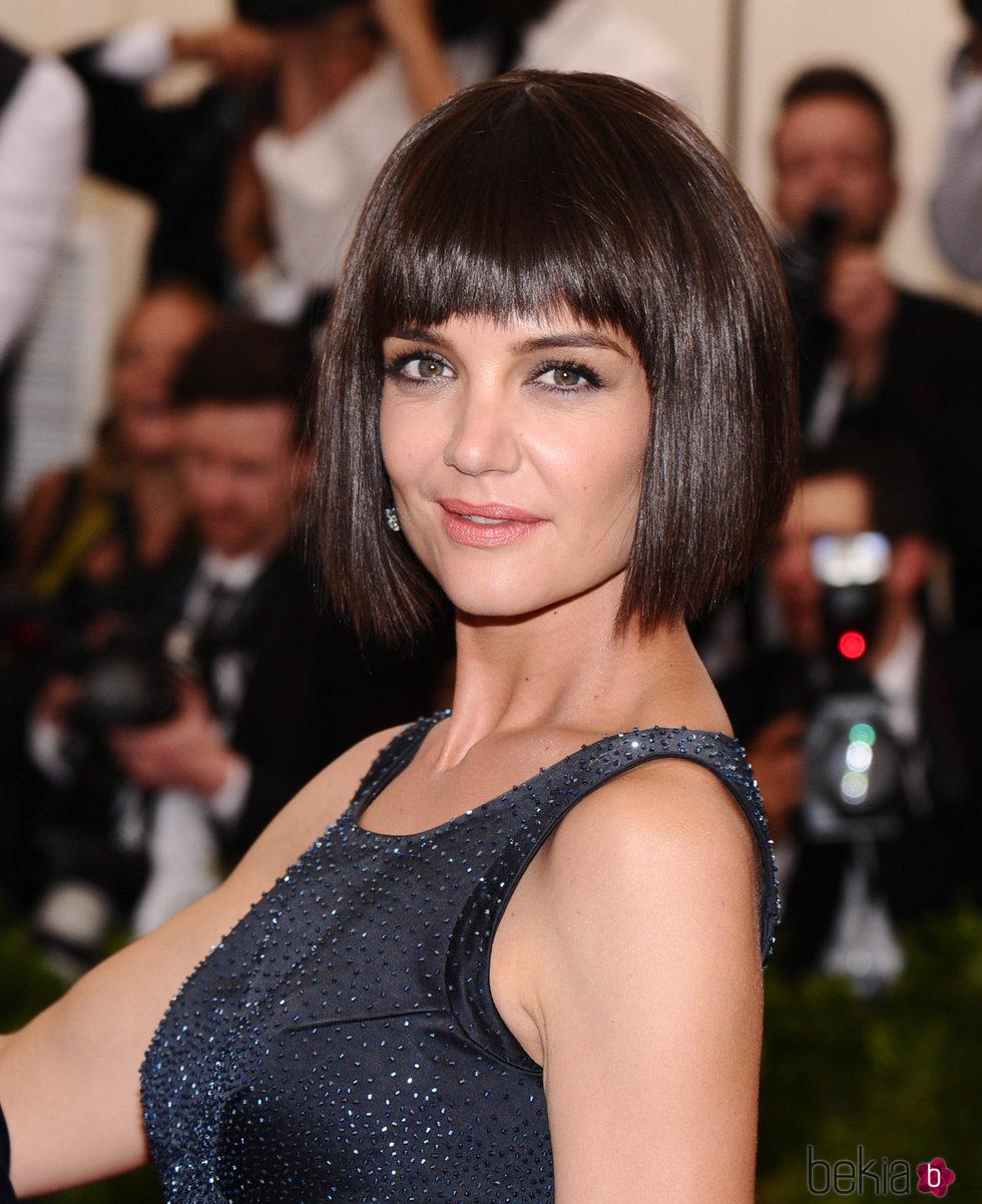Katie Holmes Con El Pelo Corto Y Flequillo Estos Son Los Peinados