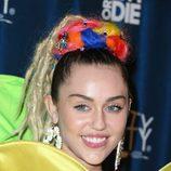 Miley Cyrus siempre con las cejas perfectamente definidas