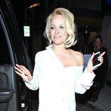 Pamela Anderson en  Beverly Hills