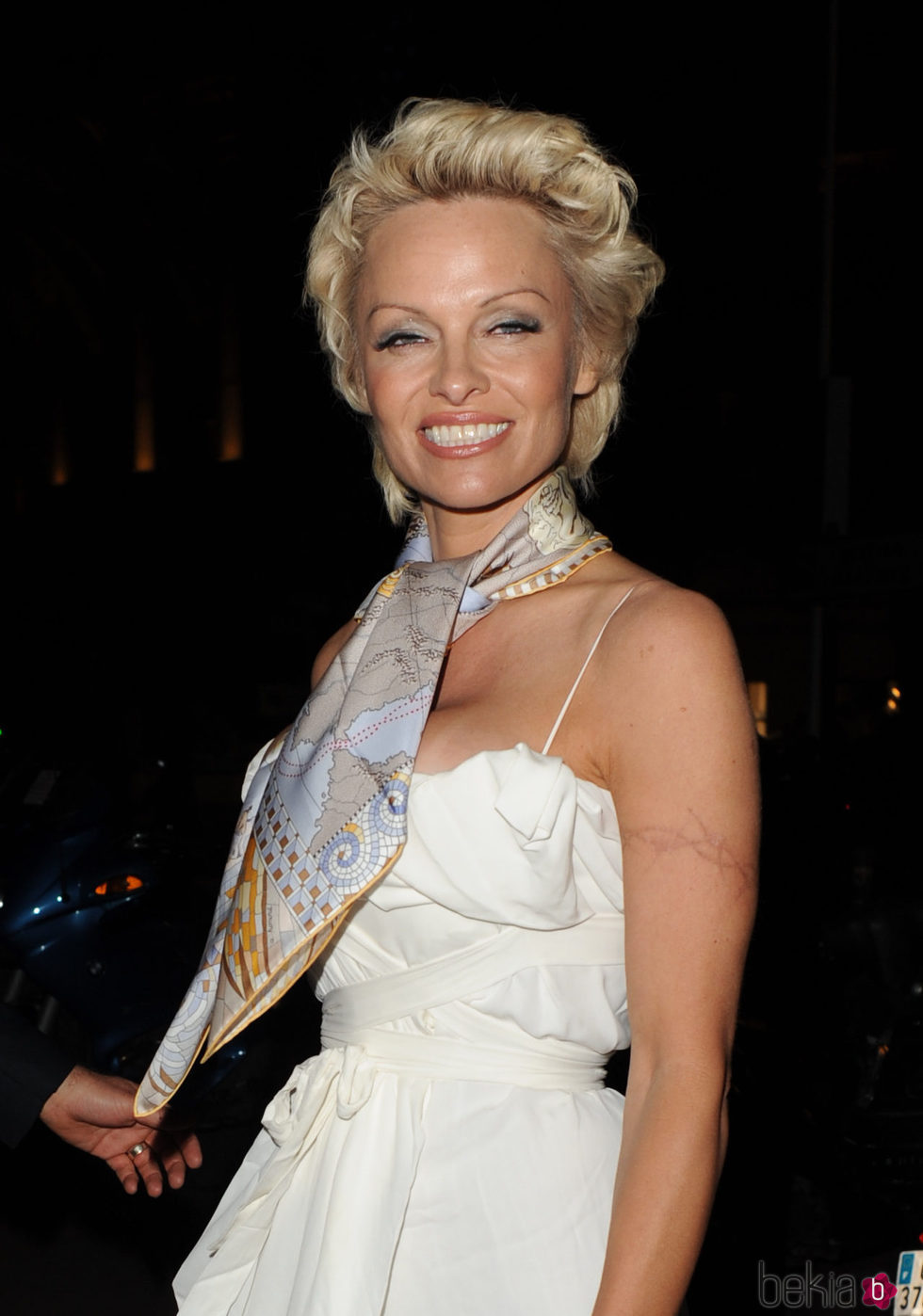 Pamela Anderson en Cannes 2014
