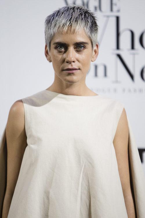 María León  con nuevo look
