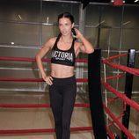 Ariana Lima en un evento deportivo de Victoria,s Secret