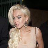 Lindsay Lohan opta por una coleta