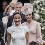 Pippa Middleton durante su boda