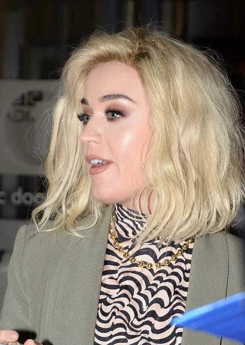 Katy Perry fan de la técnica del strobing