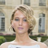 Jennifer Lawrence con corte bob ondualdo
