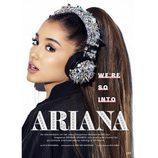 Ariana Grande fan de las pestañas postizas