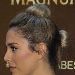 Blanca Suárez con un peinado con dos moños