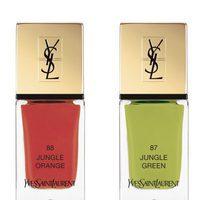 Lacas de uñas de la colección limitada 'Solar Pop' de Yves Saint Laurent