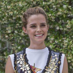 Emma Watson con rostro al natural