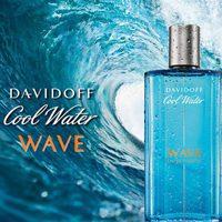 Imagen promocional del nuevo perfume Cool Water Wave que ha reinventado Davidoff para el verano 2017