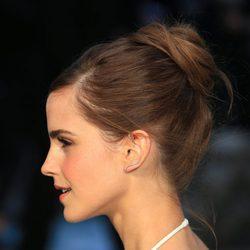 Emma Watson con moño de bailarina