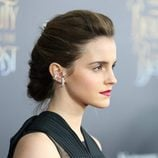 Emma Watson con recogido en espiga