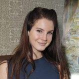 Lana Del  Rey con un recogido con coletas