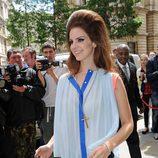 Lana Del Rey con un enorme tupé cardado