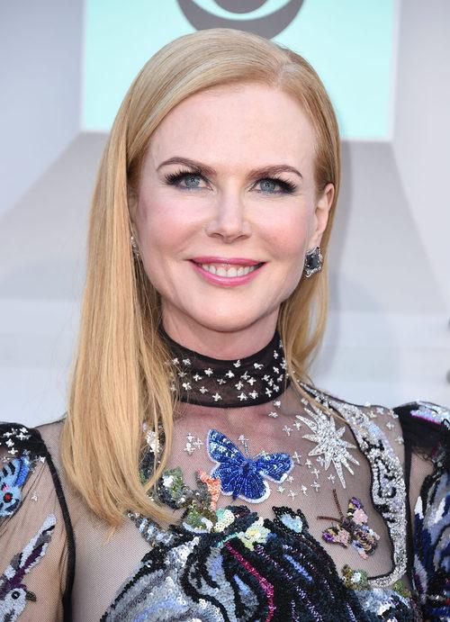 Nicole Kidman con melena lisa