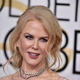 Nicole Kidman con recogido informal
