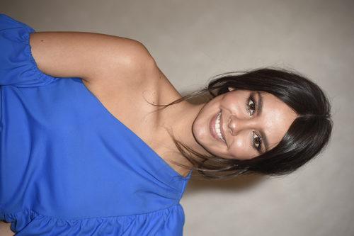 Cristina Pedroche centra la atención de su look en unas largas pestañas