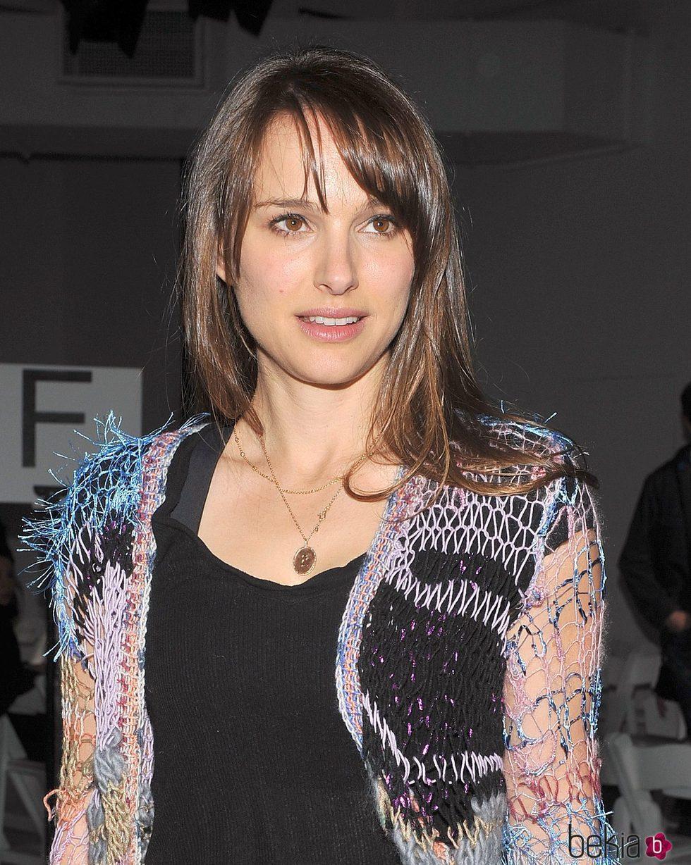 Natalie Portman Con Flequillo Abierto Los Peores Peinados De