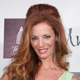 Paula Vázquez con el cabello cardado