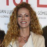 Paula Vázquez con melena extrarizada