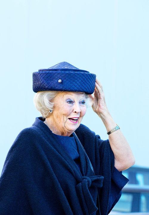 Beatriz de Holanda no llevó un maquillaje adecuado