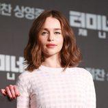 Emilia Clarke, en la presentación de