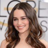 Emilia Clarke, en la gala de los Globos de Oro