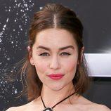 Emilia Clarke, en la premiere de la película
