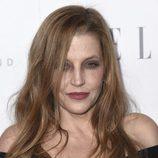 Lisa Marie Presley muy desmejorada con su maquillaje para los premios Elle en Hollywood