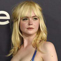 Elle Fanning en los premios In Style celebrados en Los Ángeles