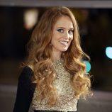 María Castro con ondas en el pelo en los Premios Iris de la Academia de Televisión