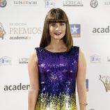 Nerea Camacho con flequillo recto en los Premios Iris de la Televisión 2017