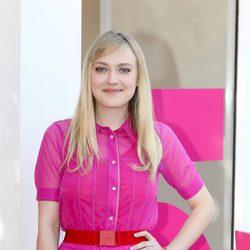 Dakota Fanning en el festival de cine de Roma