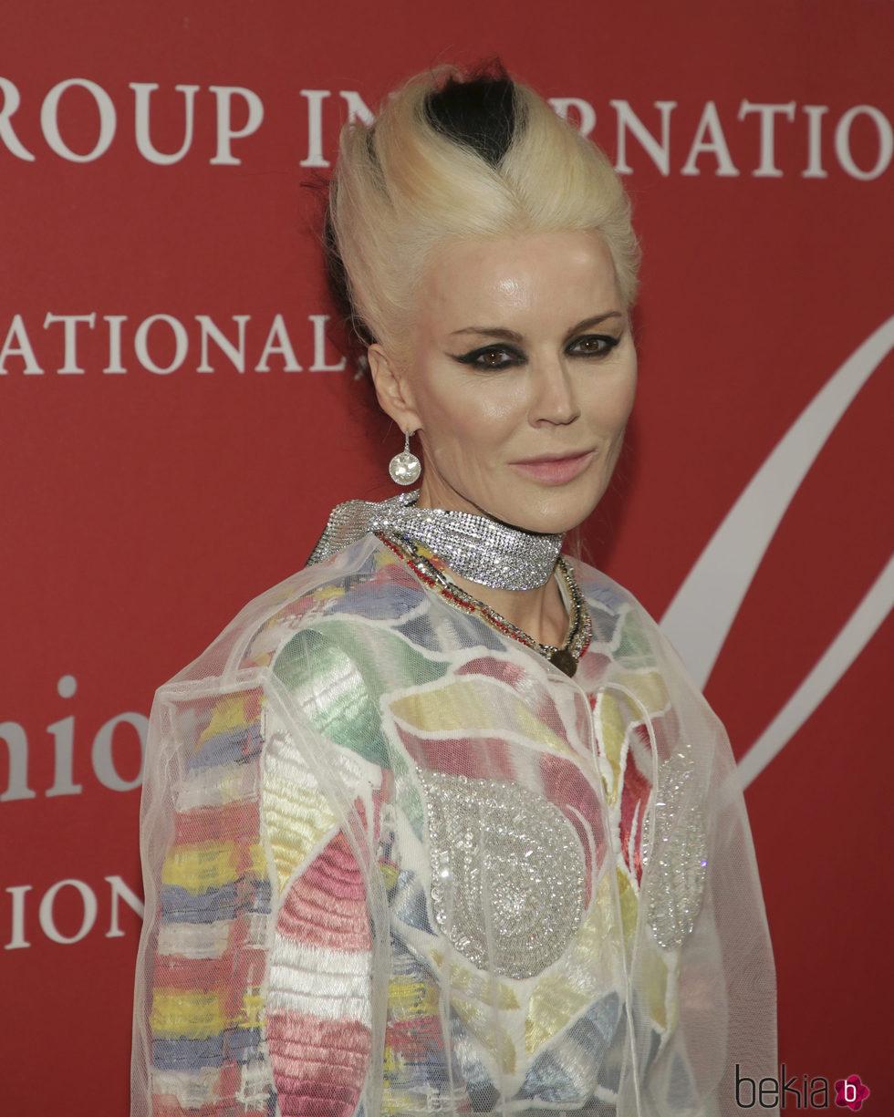 Daphne Guinnes en la gala 'Night of Stars' en Nueva York